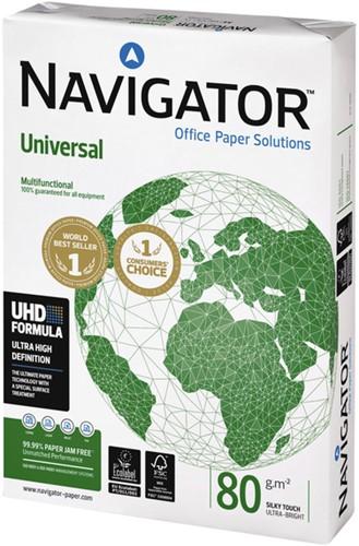 Kopieerpapier Navigator Universal A4 80gr wit 500vel