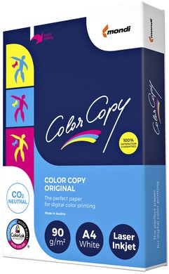 Laserpapier Color Copy A4 90gr wit 500vel