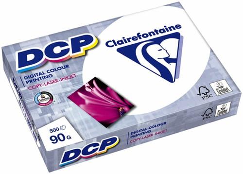 Laserpapier Clairefontaine DCP A4 90gr wit 500vel