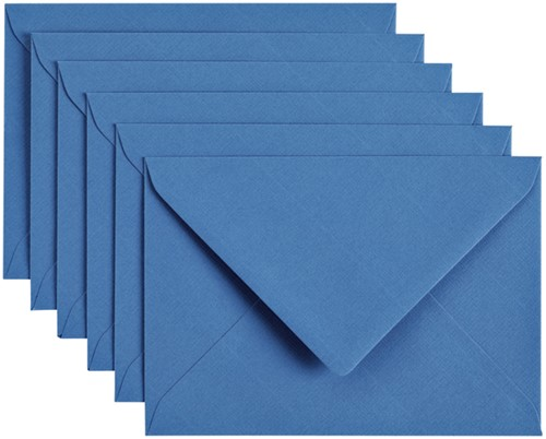 Envelop Papicolor C6 114x162mm Donkerblauw