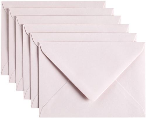 Envelop Papicolor C6 114x162mm Lichtroze