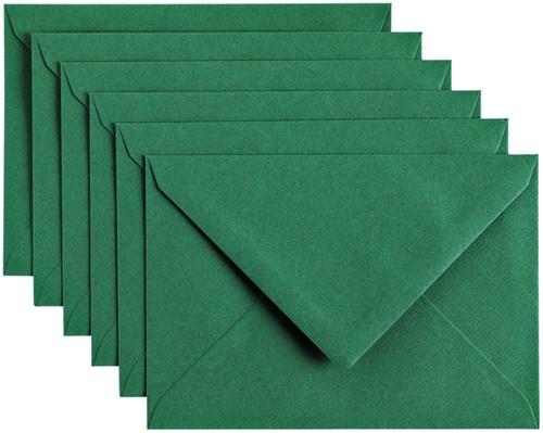 Envelop Papicolor C6 114x162mm Dennengroen