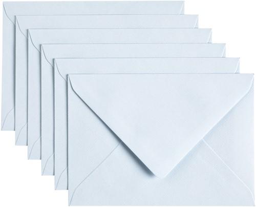 Envelop Papicolor C6 114x162mm Babyblauw