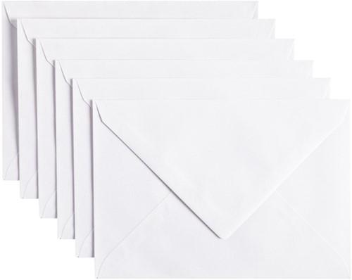 Envelop Papicolor C6 114x162mm Kraft wit