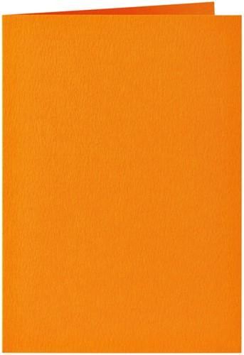 Correspondentiekaart Papicolor dubbel 105x148mm Oranje