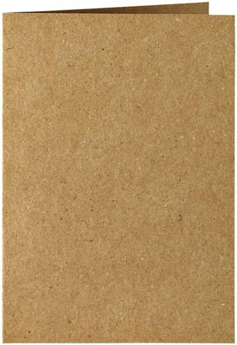 Correspondentiekaart Papicolor dubbel 105x148mm Bruin
