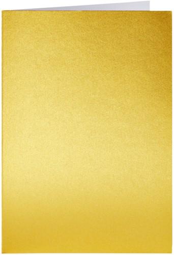Correspondentiekaart Papicolor dubbel 105x148mm Goud