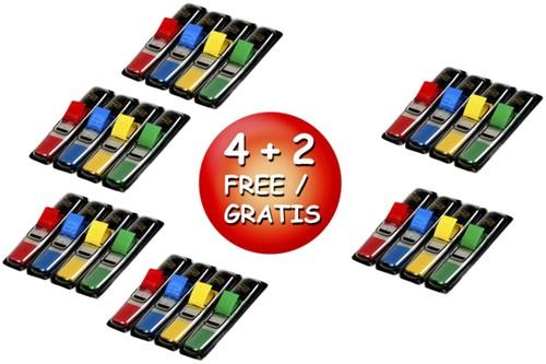 Indextabs 3M Post-it 6834 small VP 4+2 gratis