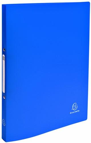 Ringband Exacompta A4 2-rings O-mech 15mm PP blauw