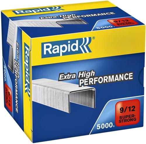 Nieten Rapid 9/12 gegalvaniseerd super strong 5000 stuks