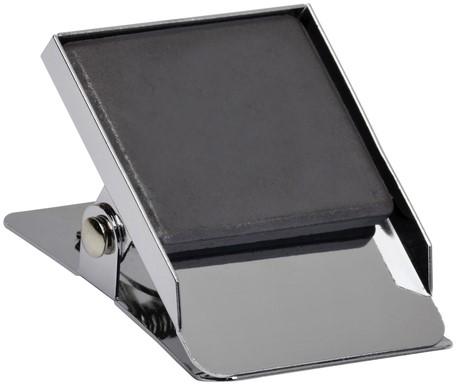 Papierklem magnetisch vierkant 40mm capaciteit 25mm-2