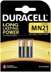 Batterij Duracell Ultra 2xMN21 alkaline