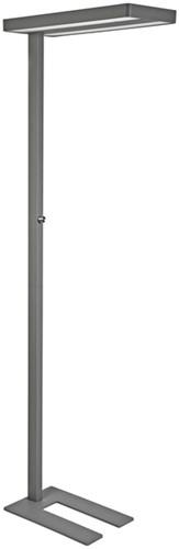 Vloerlamp MAULjaval LED dimbaar zilvergrijs