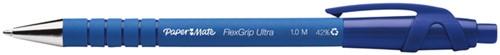 Balpen Paper Mate Flexgrip Ultra blauw medium 30+6 gratis