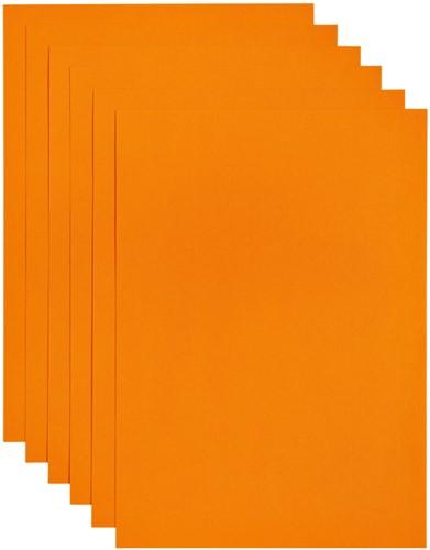 Kopieerpapier Papicolor A4 100gr 12vel oranje