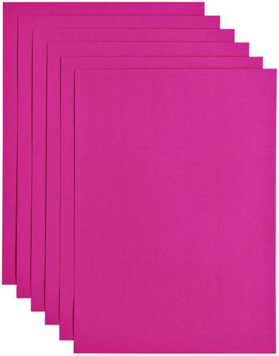 Kopieerpapier Papicolor A4 100gr 12vel felroze