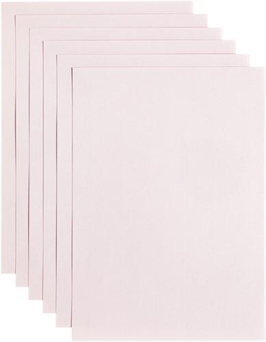 Kopieerpapier Papicolor A4 200gr 6vel lichtroze