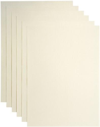 Kopieerpapier Papicolor A4 120gr 6vel ivoor