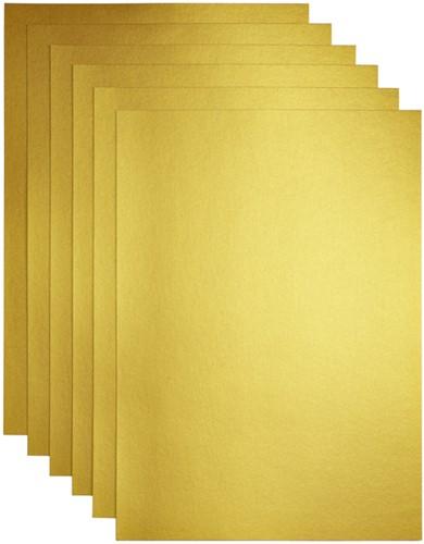Kopieerpapier Papicolor A4 200gr 3vel goud