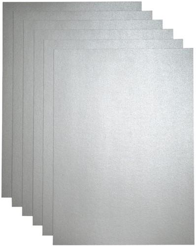 Kopieerpapier Papicolor A4 120gr 6vel zilver