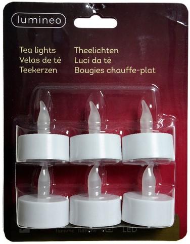 Theelicht LED Lumineo plastic
