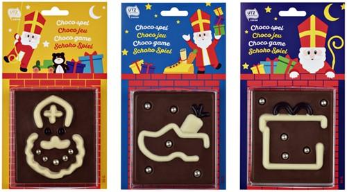 Sintspel van chocolade 50gr