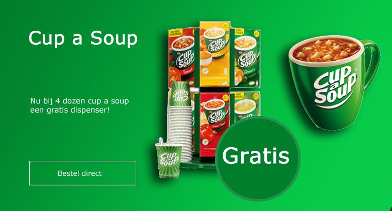 Cup a Soup nu met gratis Dispenser