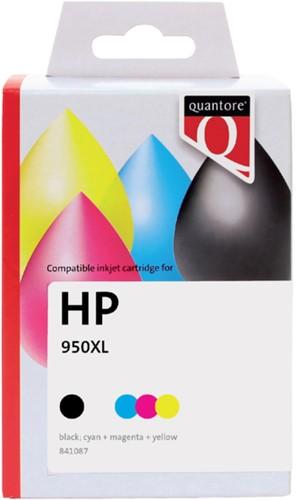 Inktcartridge Quantore HP C2P43AE 950XL+951XL zwart + 3 kleuren