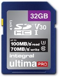 Geheugenkaart Integral SDHC V30 32GB
