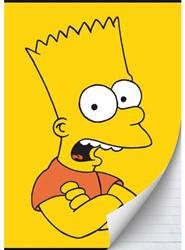 Schrift Simpsons (A4) lijn