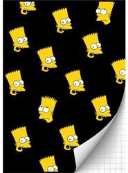 Schrift Simpsons (A4) ruit