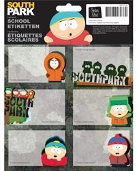 Schooletiketten South Park