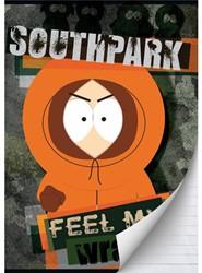 Schrift South Park (A4) lijn