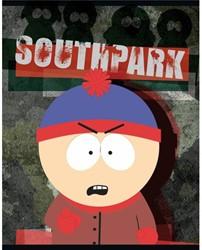 Schrift South Park (A5) lijn