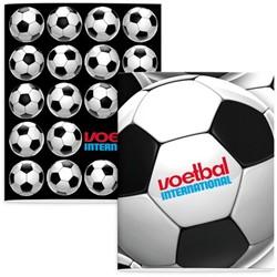 Schrift Voetbal International (A5) lijn 3-pak