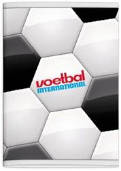 Schrift Voetbal International (A4) ruit