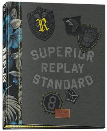 Ringband Replay boys 23-rings grijs