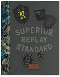 Schrift Replay boys (A5) lijn 3-pak