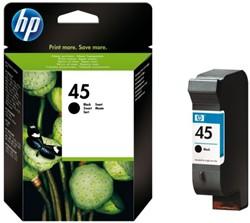 Inkcartridge HP 51645A 45 zwart