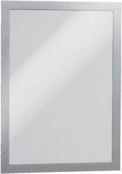 Duraframe Durable 487123 A5 zilvergrijs