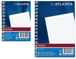 Notitieboek Atlanta A7 100blz met zijspiraal