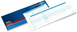 Kwitantieblok Atlanta 105x297mm 100vel
