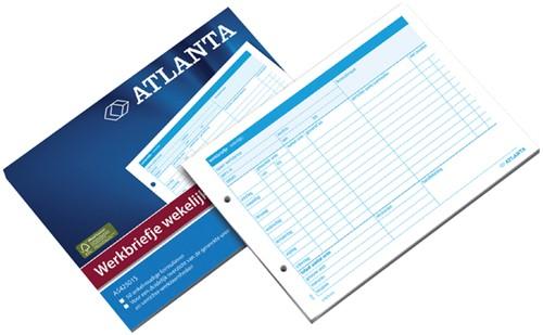 Werkbriefje Atlanta A5 wekelijks 50vel