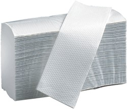Handdoek PrimeSource Interfold 2laags 21x24cm 15x150st.