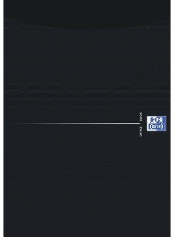 Schrijfblok Oxford Office Smart zwart A4 gelinieerd-2