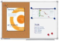 Whiteboard Duobord Legamaster economy 60x90cm