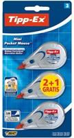 Correctieroller Tipp-ex Pocket Mini Mouse blister 2+1 gratis-1