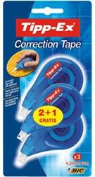 Correctieroller Tipp-ex Side 4.2mmx12m bllister 2+1 gratis