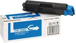 Toner Kyocera TK-580C blauw