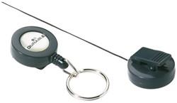 Afrolmechanisme Durable 8222 met sleutelring 80cm antraciet